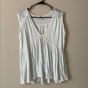 Loose fitting muscle tank
